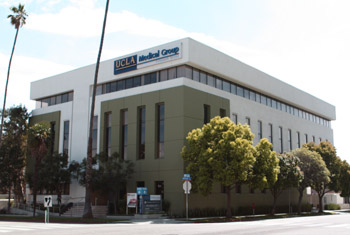 Map to UCLA Outpatient Surgery Center