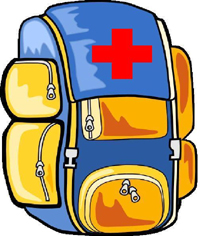 emergency preparedness backpack. UCLA Health