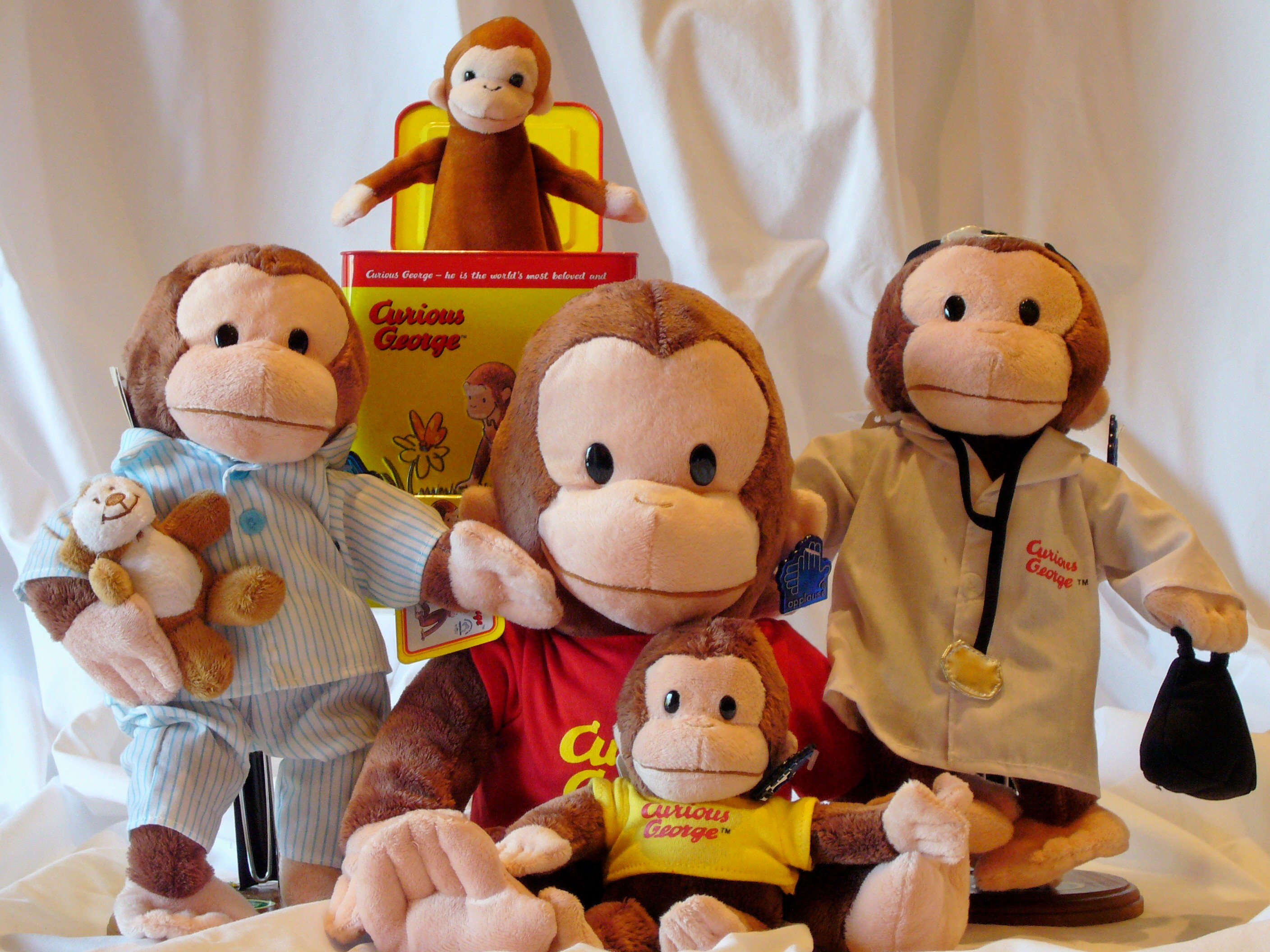 Toy Monkey/George And Allie's Game Plan . Curious George ...