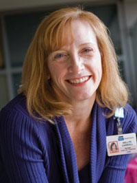 Kellye Carroll, Manager of the Chase Child Life Program at Mattel Children's Hospital