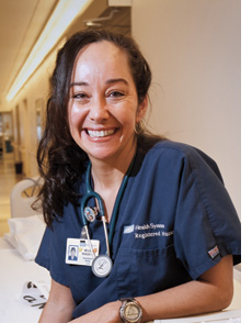 Mei Lani Renger, R.N., A.A., C.C.R.N., C.N. III 6ICU Neurosurgery / Trauma Adult ICU at Ronald Reagan UCLA Medical Center