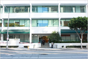 UCLA Multi-specialty Offices located at 2020 Santa Monica Blvd. Santa Monica 90404