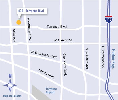 UCLA Health OBGYN in Torrance map