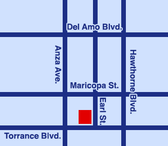 UCLA Health Pediatric Office in Torrance map
