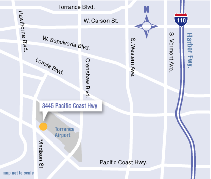 map - UCLA Health Hematology/Oncology Office in Torrance