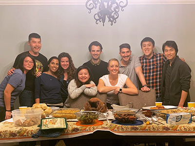 UCLA Infectious diseases fellows thanksgiving