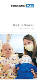 Download and Print Child Life Services Brochure
