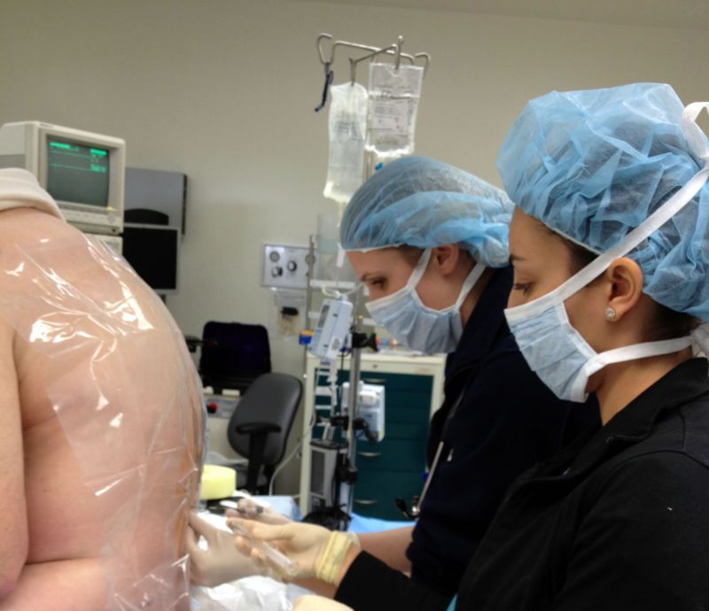 Regional Anesthesia Clinical Care And Training At Santa