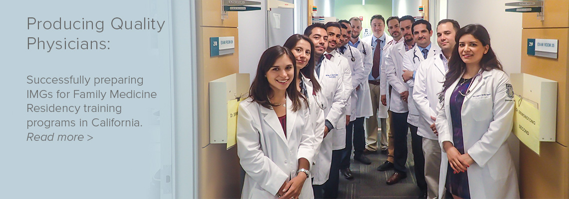 The International Medical Graduate Program (IMG) - UCLA Department