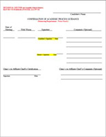 mentor confirmation form