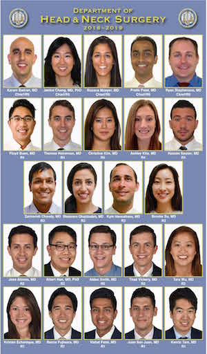 Current Residents - UCLA Head and Neck Surgery - Los Angeles, CA