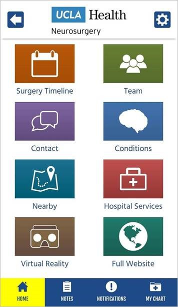 UCLA Neurosurgery App