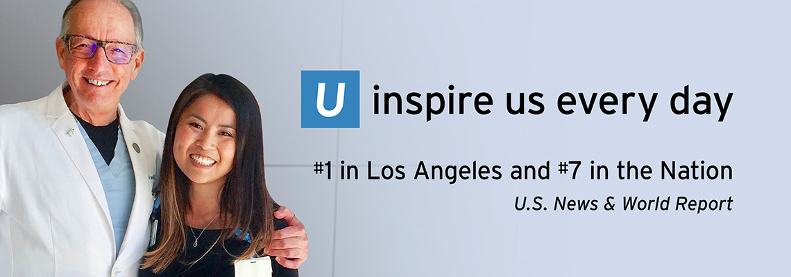 U inspire us every day. #1 in Los Angeles and #7 in the Nation
