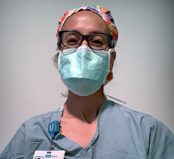 Christy Hichiya, OR Nurse at UCLA Health