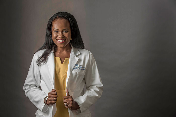 UCLA Health, gastroenterologist, Dr. Fola May
