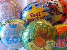 Assorted Balloons Get Well, Baby & Birthdays
