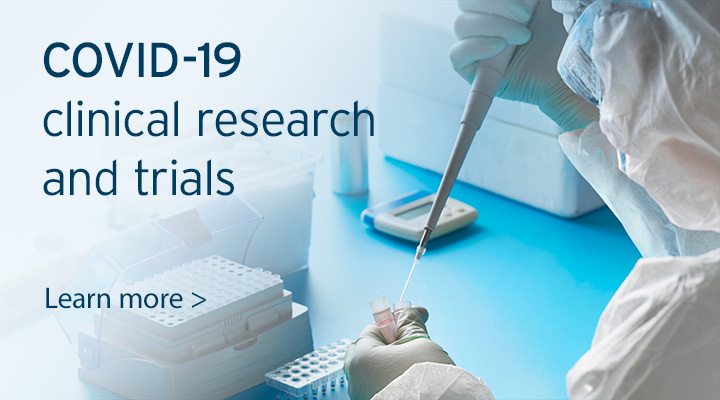 COVID-19 clinical research and trials