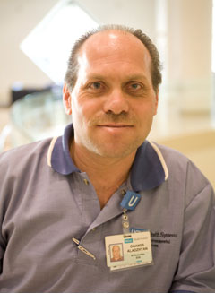 Oganes Aladzhyan, Senior Custodian, Ronald Reagan UCLA Medical Center
