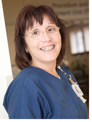 Belinda Mosley, R.N., Clinical Educator for the PTU/ PACU unit at UCLA Medical Center, Santa Monica