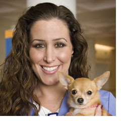 Danielle Palmieri, R.N. People Animal Connection (PAC) Program Labor and Delivery Nurse, Ronald Reagan UCLA Medical Center