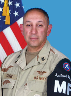 MA1(AW) Edward J. Galvan, Senior Security Officer, Department of Security, UCLA Medical Center, Santa Monica
