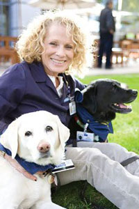 Jane Tomlinson, Daisy and Paco - UCLA People - Animal Connection