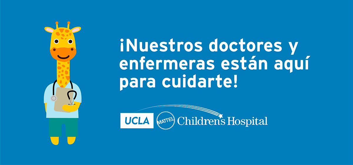 sign in spanish to let children know the doctor will see them