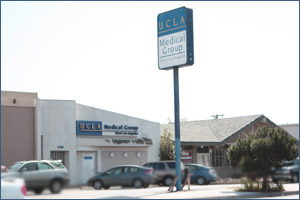 UCLA West Los Angeles Pediatrics office. Located at:  11318 National Bl., Los Angeles, Ca 90064