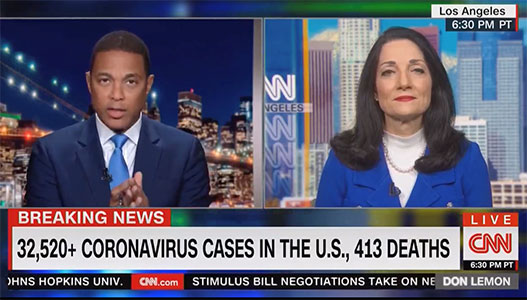 UCLA Health President talks about COVID-19 challenges with CNN's Don Lemon