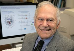Grunstein was recognized for his groundbreaking research showing that histones play an important role in gene expression.