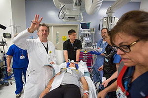 Reed Hutchinson, U.S. News has recognized Mattel Children's Hospital for excellence in nine categories.
