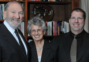 <em>Courtesy of the Shapiro family</em><br>Ralph, Shirley and Peter Shapiro, whose family foundation has long supported UCLA faculty and programs dedicated to improving care for people with disabilities.