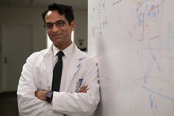 Steven Raman, MD, professor of radiology, urology and surgery and a member of the UCLA Jonsson Comprehensive Cancer Center