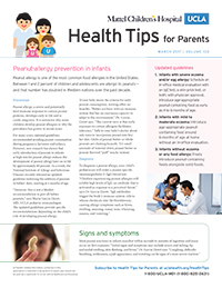 Health Tips for Parents