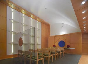 Meditation Room at Ronald Reagan UCLA Medical Center