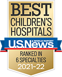 UCLA Mattel Children's Hospital for excellence in nine specialties