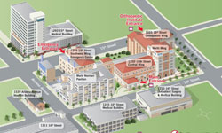 Click to enlarge UCLA Health Santa Monica map and open in PDF format.