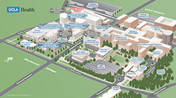 Click to enlarge UCLA Health Westwood campus map and open in PDF format.