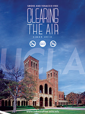 ucla campus clearing the air. Smoke-free campus