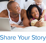 Share your story. Connect. Share. Improve. UCLA Health