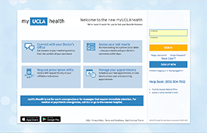 log in to myUCLAhealth for your patient information