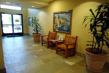 Westlake Village office - building lobby area