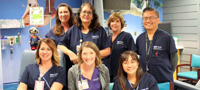 Pediatric Infusion Center - UCLA Mattel Children's Hospital