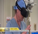 Neurosurgery article of Dr. Neil Martin virtual reality headsets for brain surgery