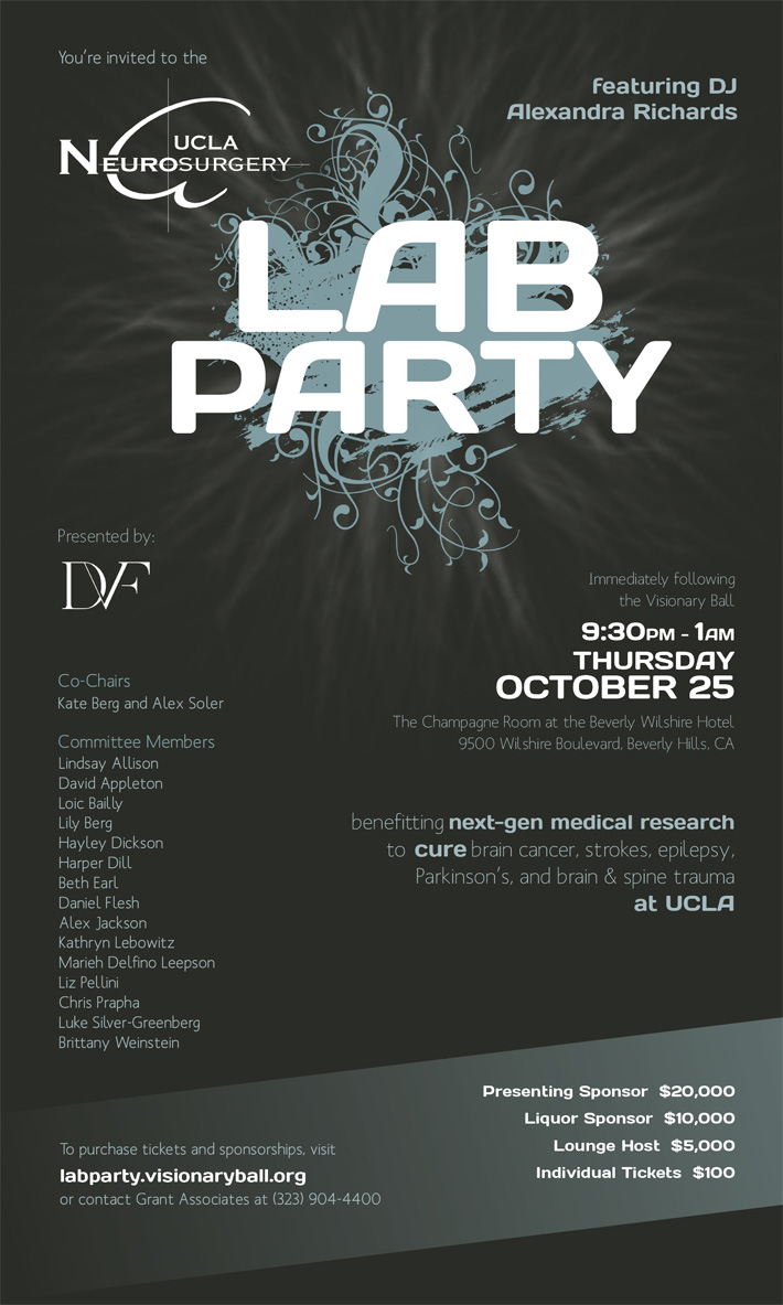 Purchase LAB Party Tickets