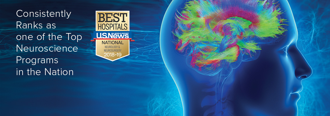 Consistently Ranks as one of the Top Neuroscience Programs by U.S. News & World Report