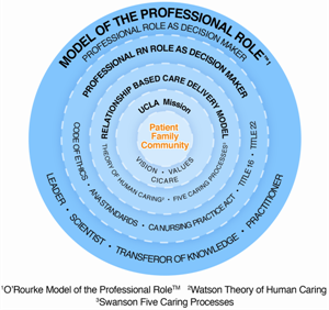 Professional practice model. UCLA Department of Nursing.