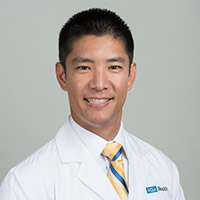 Dr. Wang and link to giving page