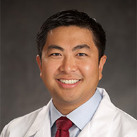 Dr. Yang and link to giving page
