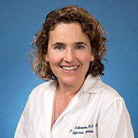 Joanna Schaenman, MD, PhD, UCLA Division of Infectious Diseases.